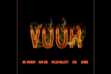 Vuur (Lyric Video) - Mr. Wonder, MAR ONE, Taylor Walcott, Don & Bombe